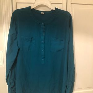 Teal old navy blouse